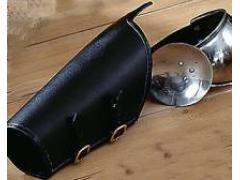 Elbow Cap with Leather Arm Guard