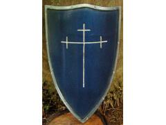 Templar Shield - Blue
