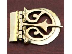 Brass Belt Buckle - Large