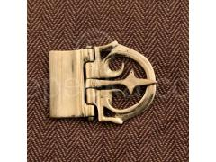 Brass Belt Buckle - Small