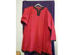 Viking Tunic - Gusset - Red